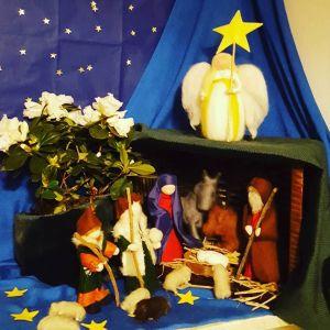 Kerstmis op de jaartafel