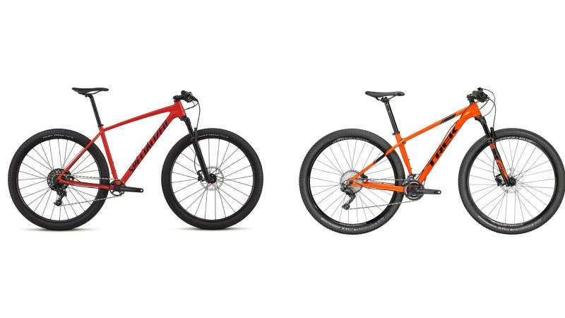 2018 Specialized Chisel vs 2018 Trek Procaliber Alloy
