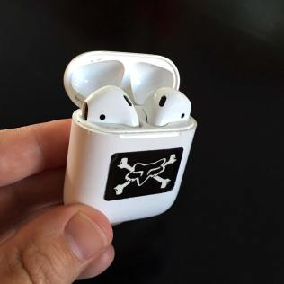 AirPods in the case