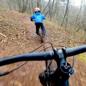 Downhill Loops at Charles D Owen With My 6 Year Old