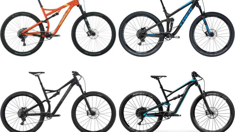 Best 2018 Mid Travel 29er Trail Bikes For Less than $3000