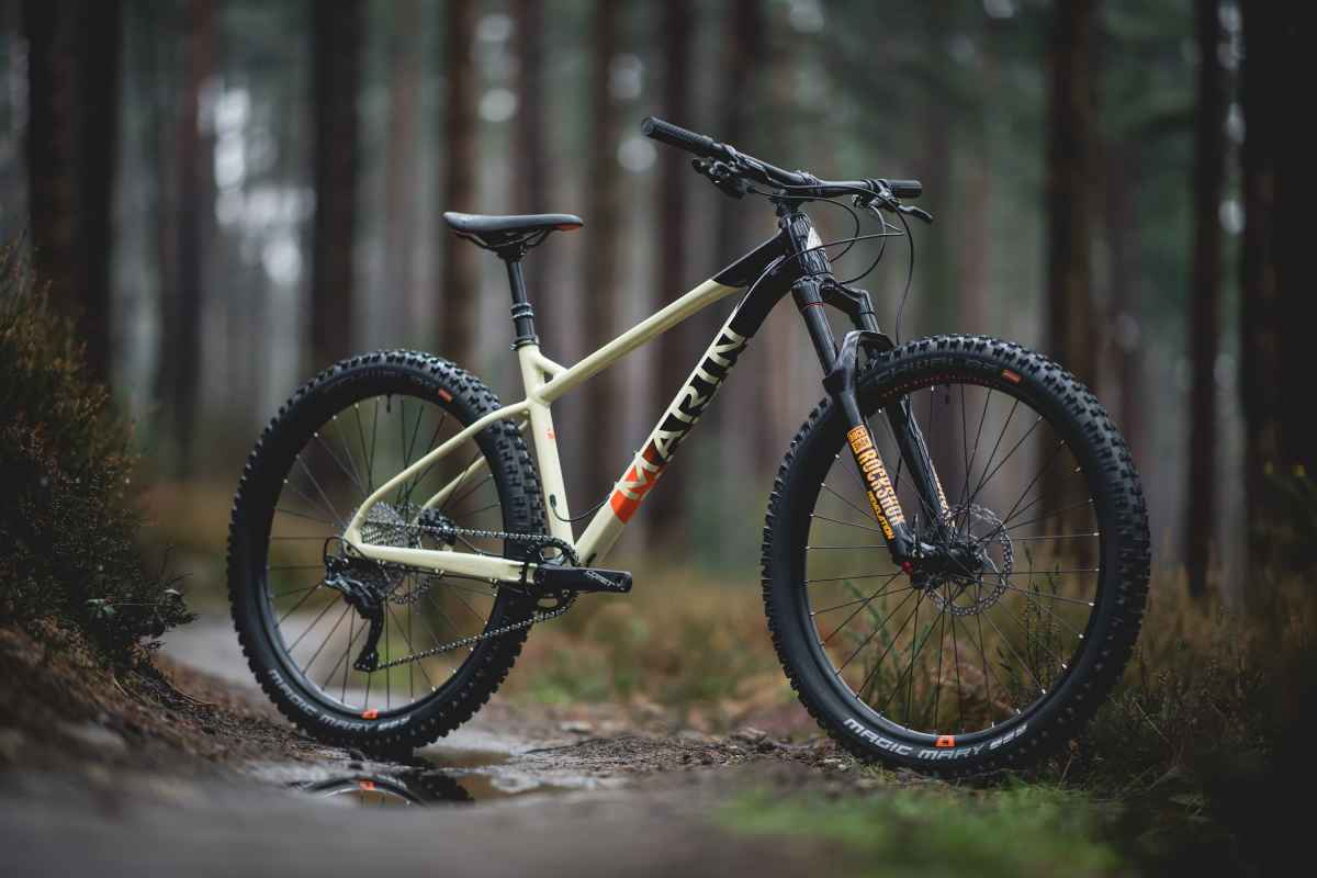 "New From Marin an ""Aggressive Hardtail"" - The San Quentin"