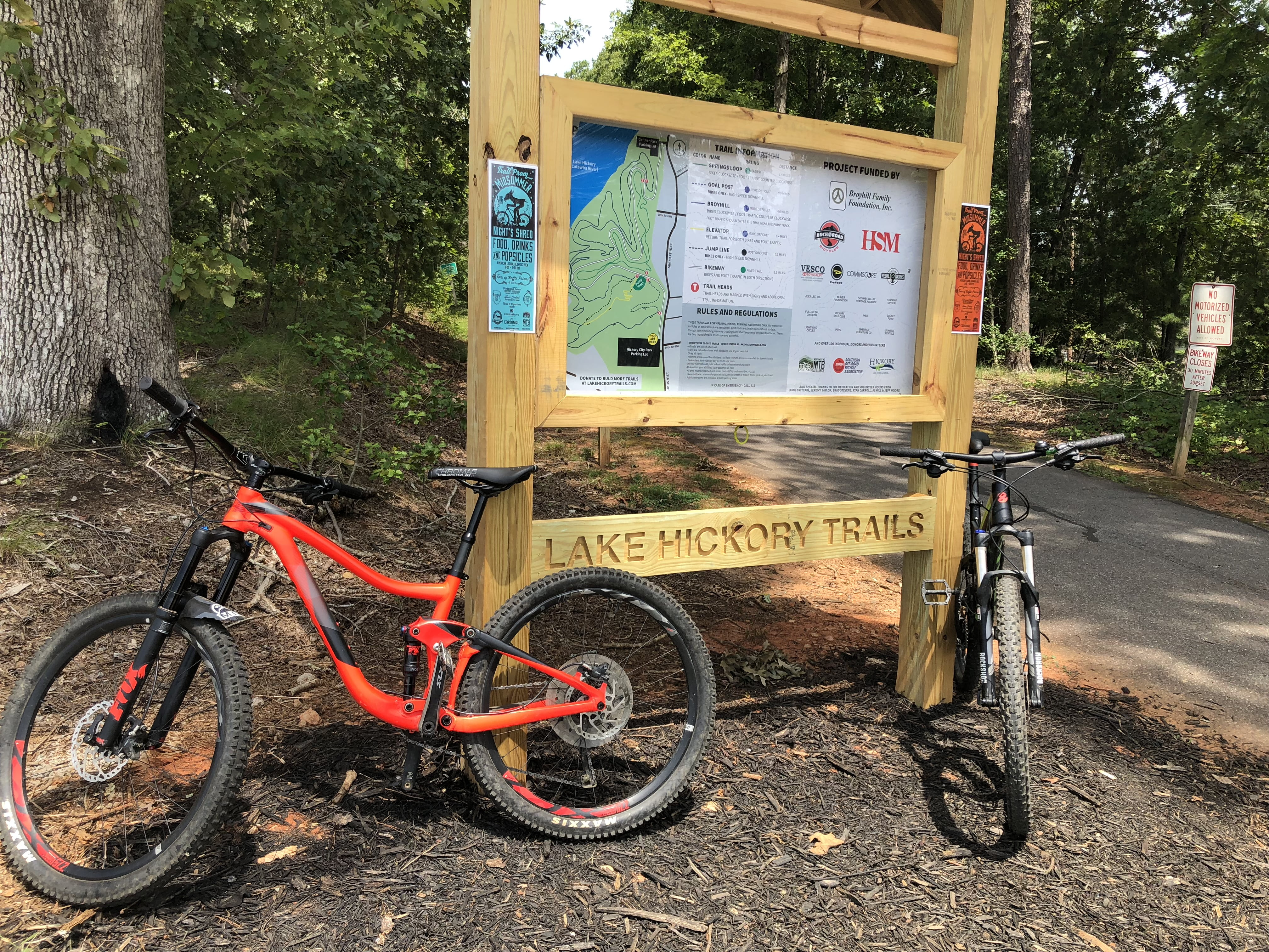 Lake Hickory MTB Trails Review