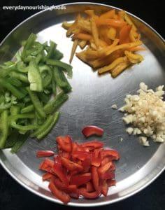 Millet capsicum rice Ingredients