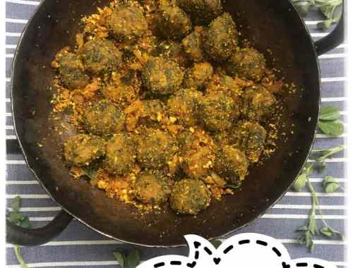 menthi badilu - methi muthiya