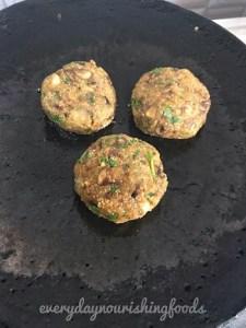 puffed amaranth mushroom cutlet recipe