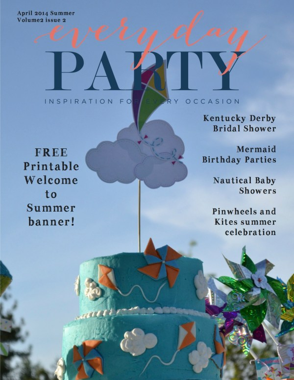 Everyday Party Magazine Summer 2014