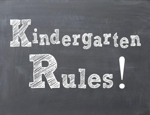 Kindergarten Rules copy