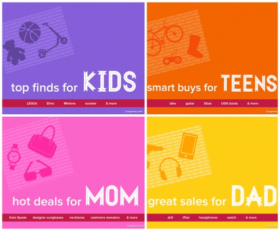 Coupons.com Holiday Gift Guide