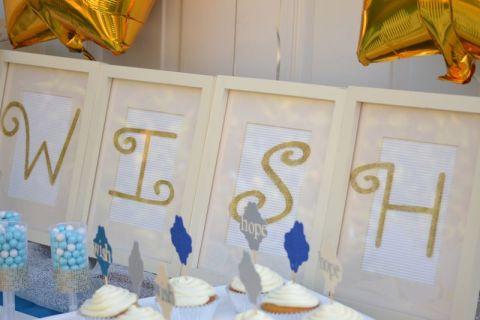 Everyday Party Magazine NYE WISH Dessert Table