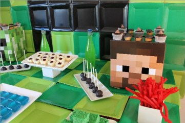 Everyday Party Magazine Minecraft Dessert