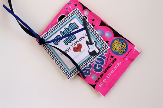 Everyday Party Magazine You Totally Rock Valentine tag by J. at Your Service