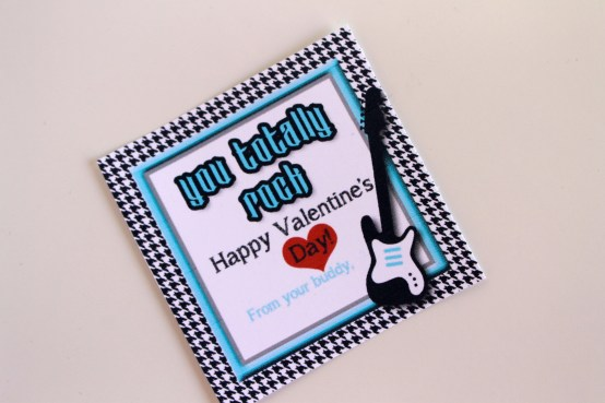 Everyday Party Magazine You Totally Rock Valentine by J. at Your Service