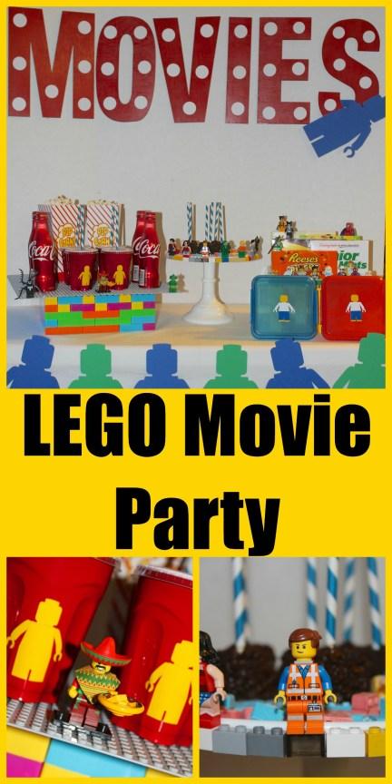 Lego Movie Party