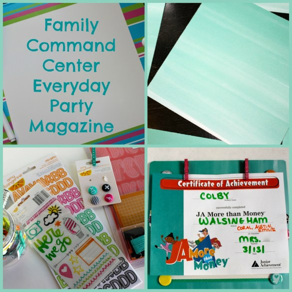 Everyday Party Magazine Family Command Center