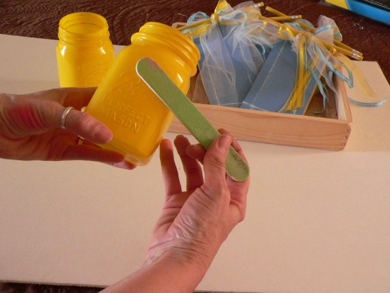 Everyday Party Magazine Painted Jar DIY