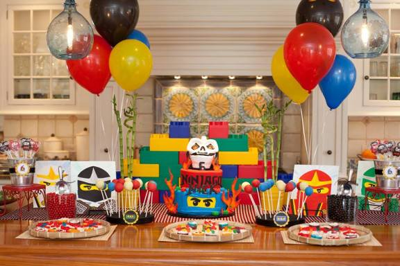 Everyday Party Magazine Ninjago Party The Party Designers Inc