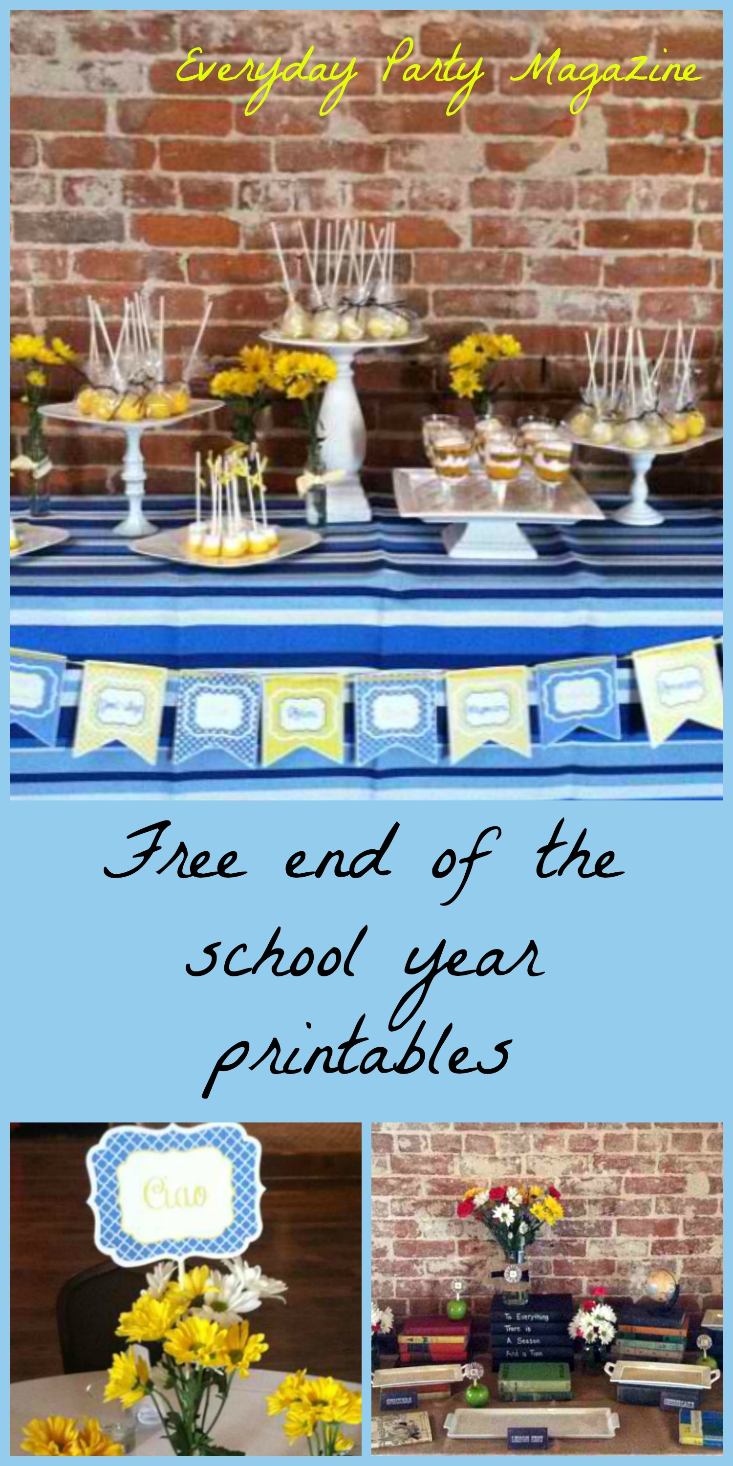 Free End Of The School Year Printables