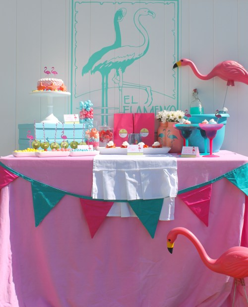 Everyday Party Magazine Flamingo Party