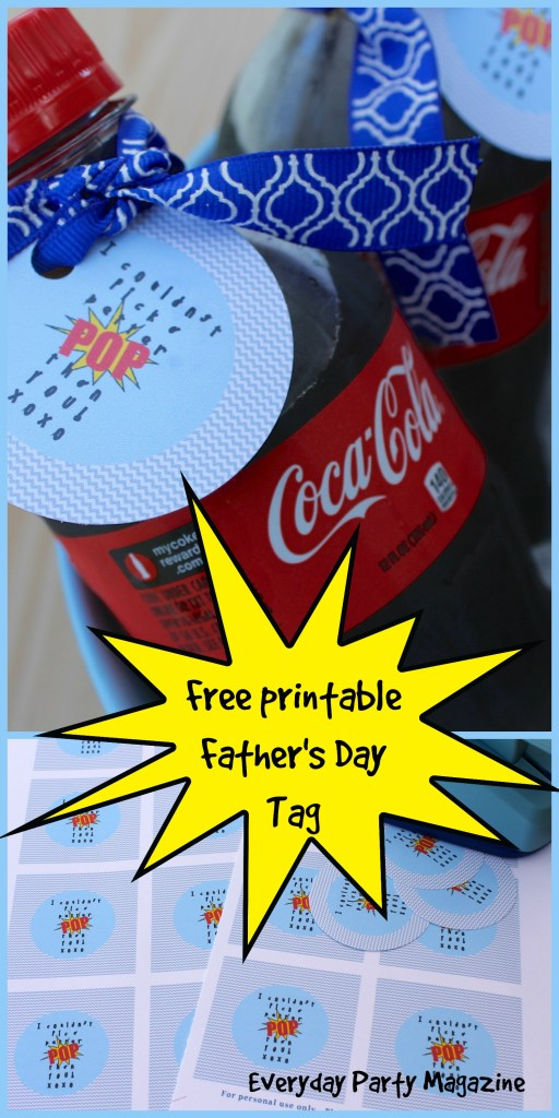 Everyday Party Magazine Free Fathers Day Printable Tag