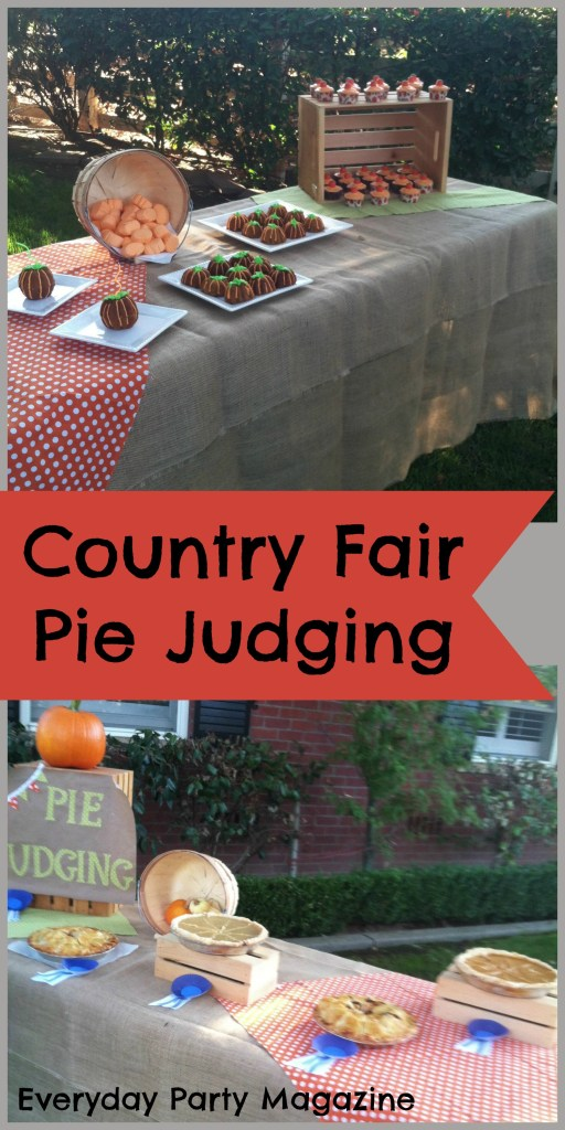 Everyday Party Magazine Pie Judging Party