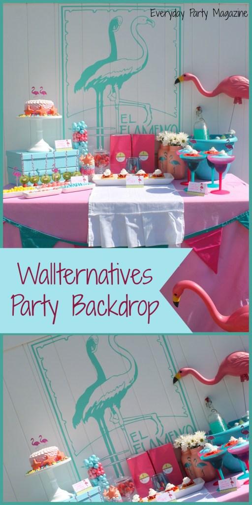 Everyday Party Magazine Flamingo Party Using Wallternatives
