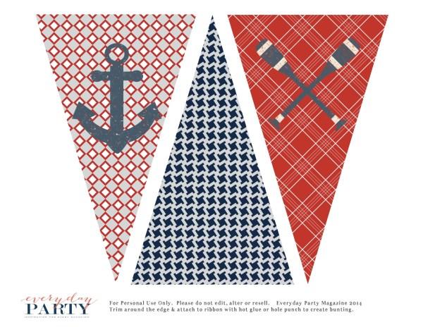 Everyday Party Magazine Free Nautical Party Printables