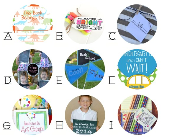 Everyday Party Magazine Top 9 Free Back to School Printables