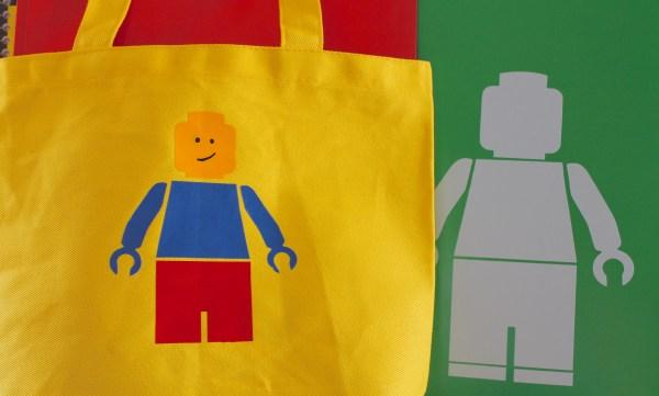 Everyday Party Magazine Lego Minifigure Bag