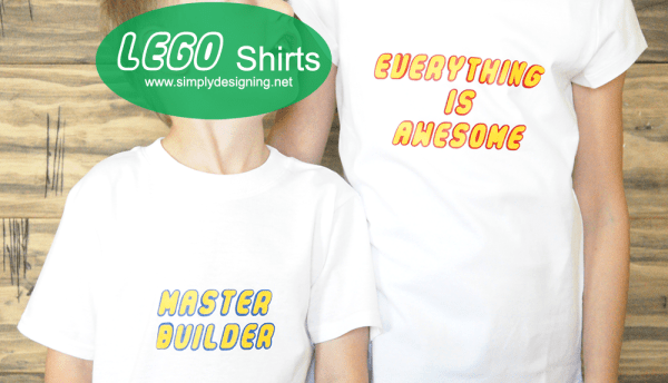 How fun are these shirts from Simply Designing?