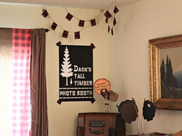 Everyday Party Magazine Lumberjack Birthday by Little Retreats