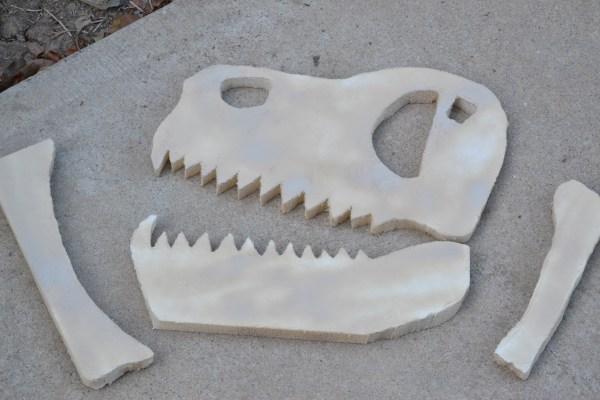Everyday Party Magazine Simple Dinosaur Bone DIY