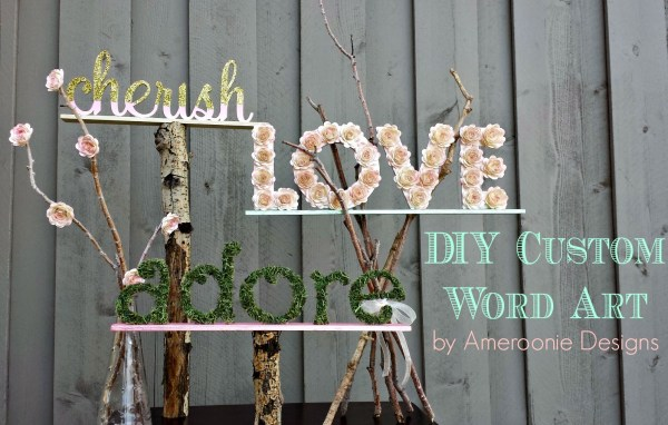 Everyday Party Magazine Custom Wedding Word Art by Ameroonie Designs