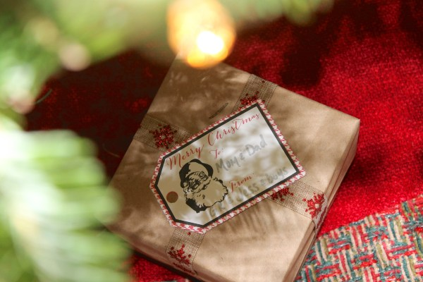 Everyday Party Magazine Christmas Gift Tags