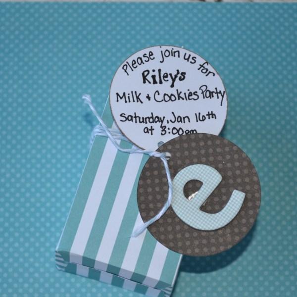 Everyday Party Magazine milk carton invite