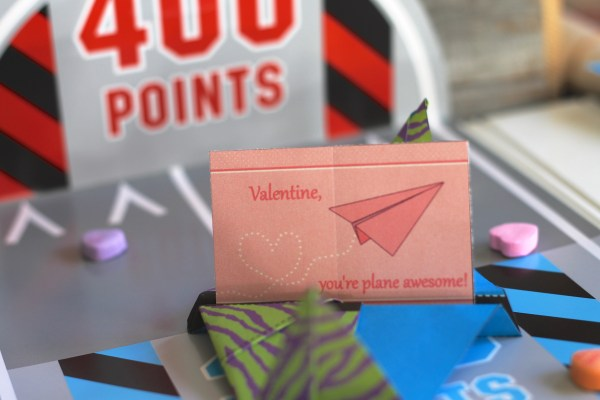 Everyday Party Magazine and Swish Printables Valentine, you are plane awesome free printable