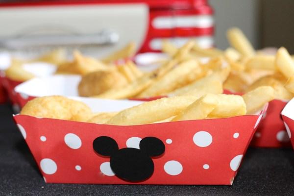Disney Side Food Tray DIY