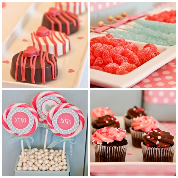 Paige Simple Valentine's Day Sweet Bar