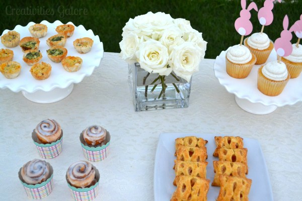 Easter Bunny Brunch by Creativities Galore on Everyday Party Magazine