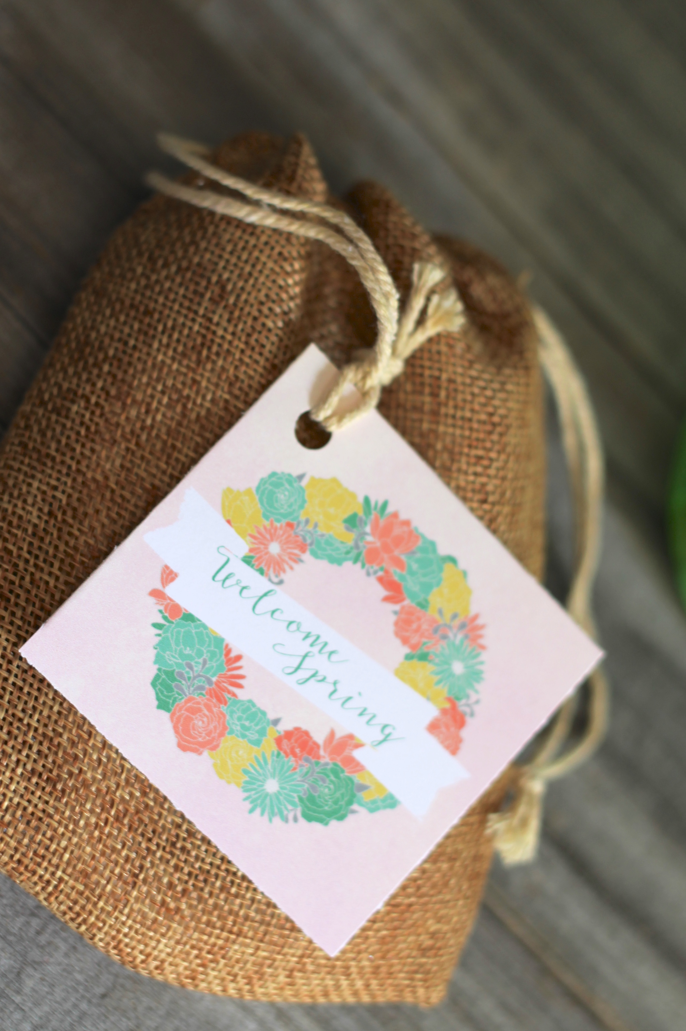 Welcome Spring Tags Everyday Party Magazine