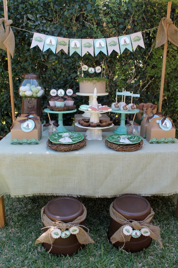 Vintage Easter Everyday Party Magazine, Styled by LAURA'S little PARTY