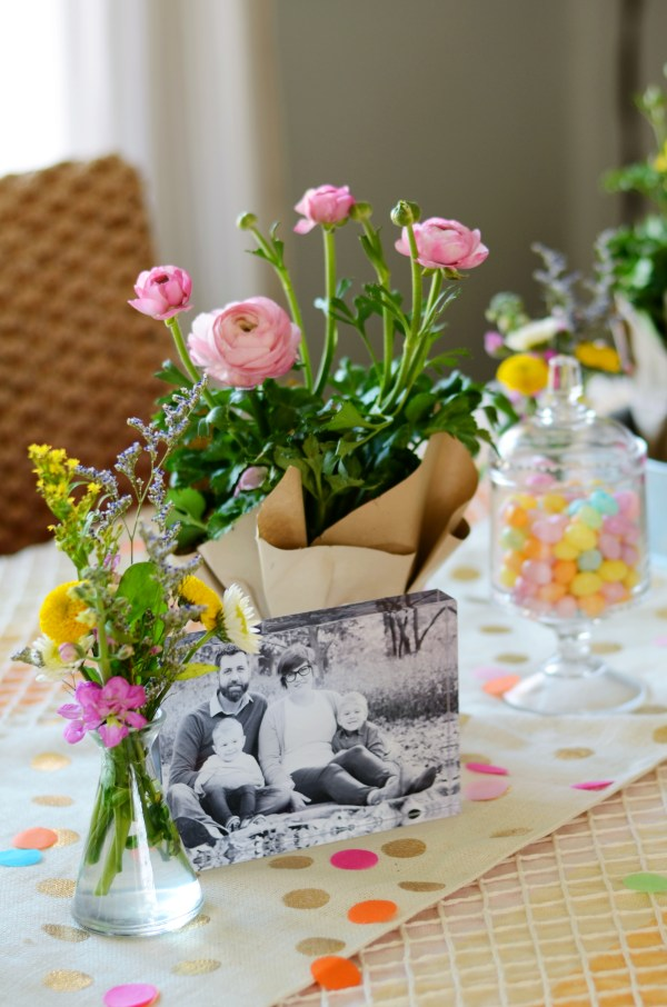Spring Vintage Inspired Baby Shower by Natalie Creates on Everyday Party Magazine