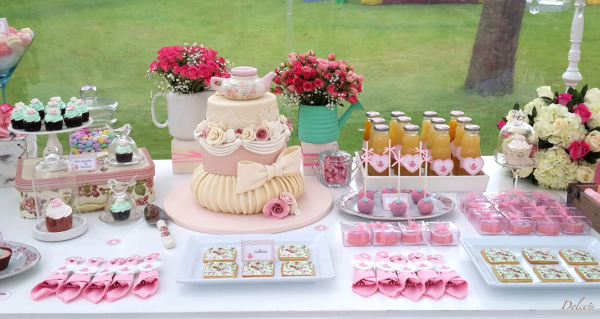 Garden Tea Party by Dolce Catering Boutique on Everyday Party Magazine