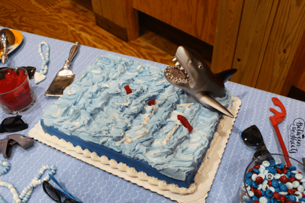 Fins Up Shark Party on Everyday Party Magazine by Between the Sheets Co.