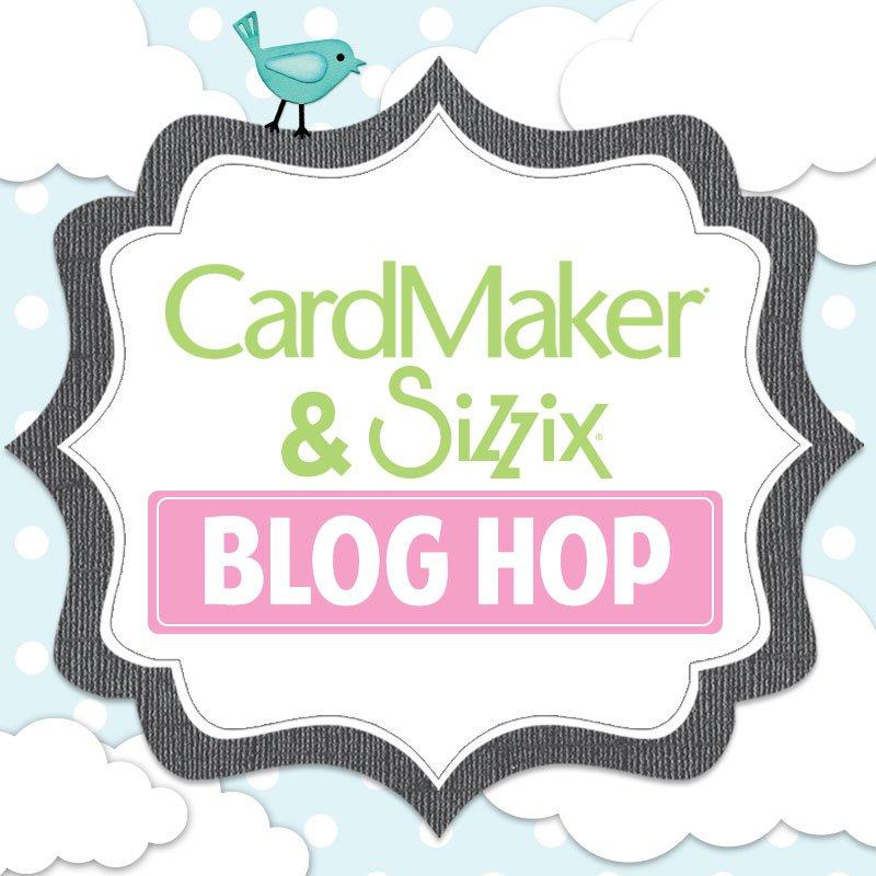 CardMaker Magazine and Sizzix Blog Hop on Everyday Party Magazine