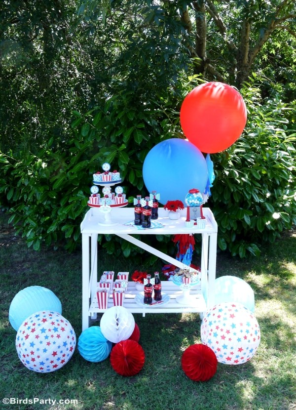 4th of July Celebrations on Everyday Party Magazine Birds Party Blog 4th of July Party Ideas