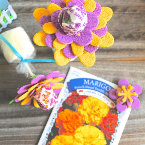 Simple Summer Flower Party Favors