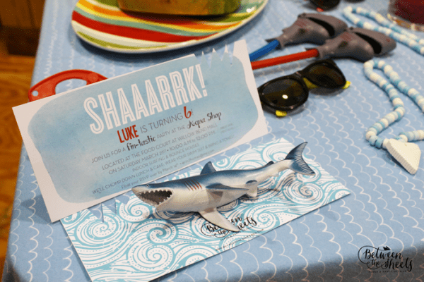 Fins Up Shark Party