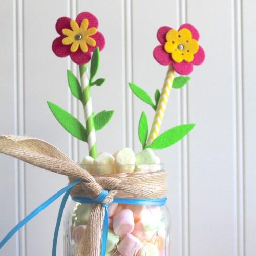 Summer Flower DIY Decor with Sizzix