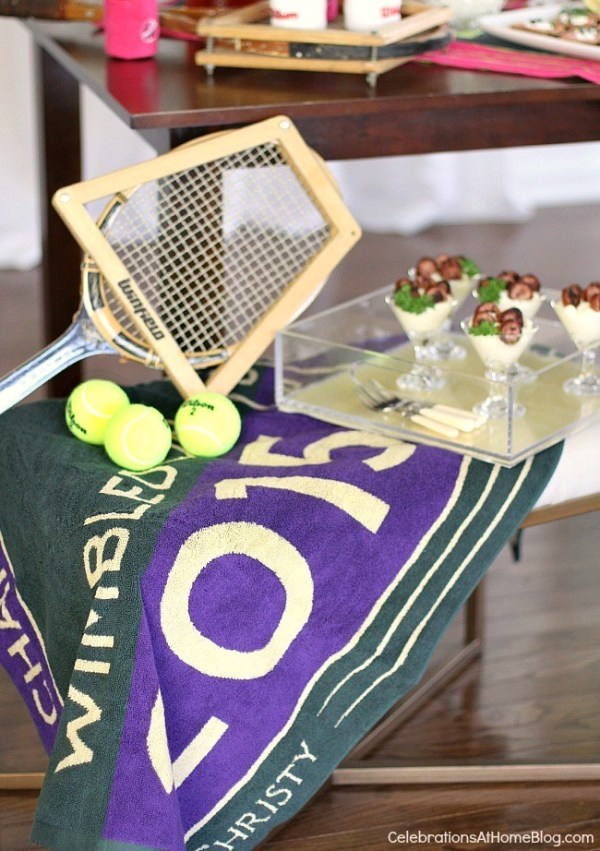 Wimbledon Brunch by Celebrations at Home on Everyday Party Magazine
